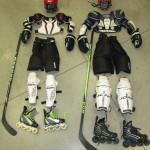Completi professionali per hockey inline