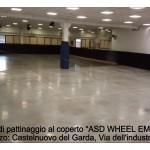 """pista di pattinaggio con balaustre """"Castelnuovo del Garda"""""""